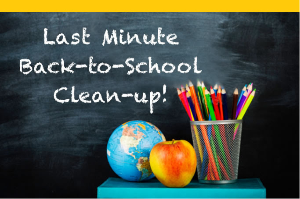 back to school skip hire