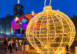 Christmas Lights fedsquare